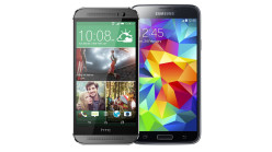 Samsung Galaxy S5 vs HTC One M8 1