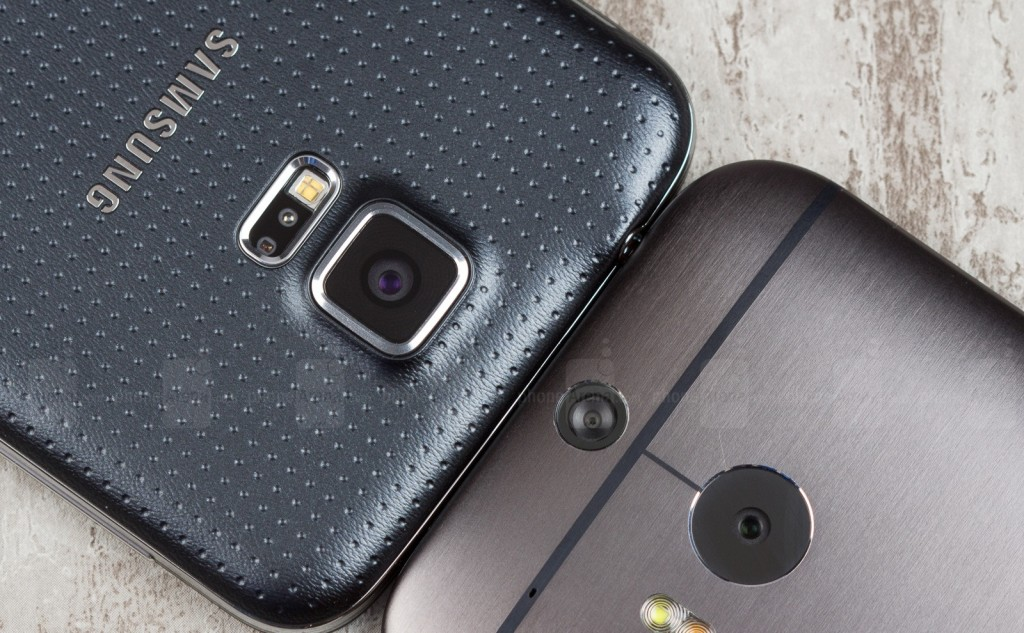 Samsung Galaxy S5 vs HTC One M8 5