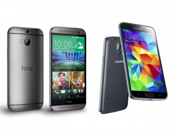 Samsung Galaxy S5 vs HTC One M8 8