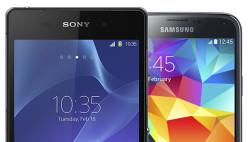 Apple iPhone 5S vs HTC one M8 vs Samsung Galaxy S5 vs Sony Xperia Z2 6