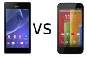 Sony Xperia M2 vs Motorola Moto G 1