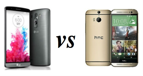 LG G3 vs HTC One M8 10