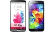 LG G3 vs Samsung Galaxy S5 1