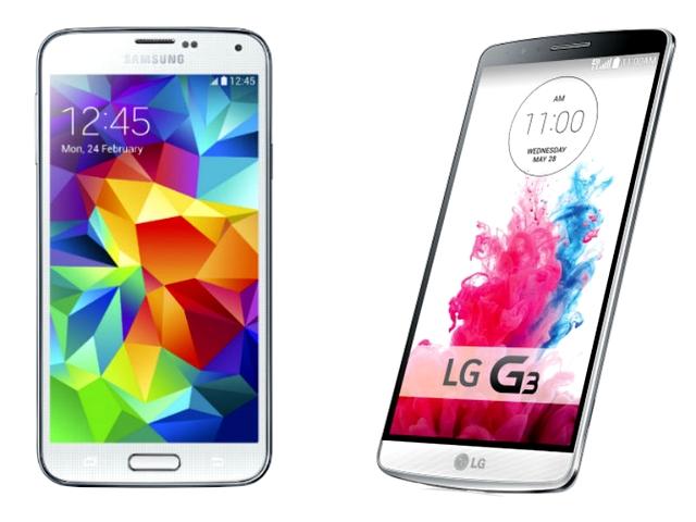 LG G3 vs Samsung Galaxy S5 12