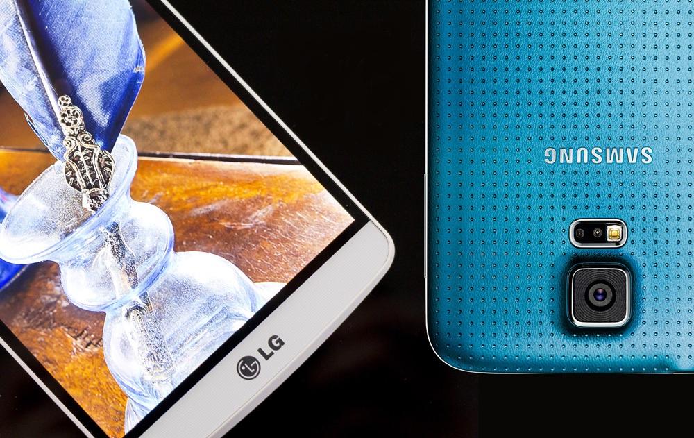 LG G3 vs Samsung Galaxy S5 2