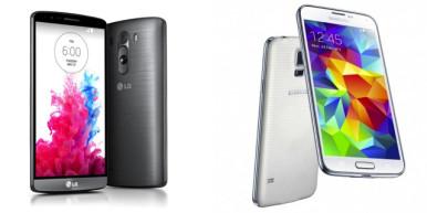 LG G3 vs Samsung Galaxy S5 3