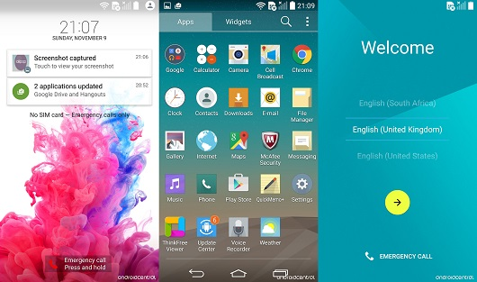 LG G3 Android 5.0 Lollipop 3