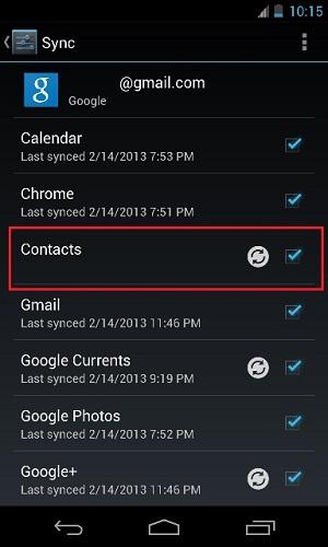 Sačuvajte svoje podatke u Google-u